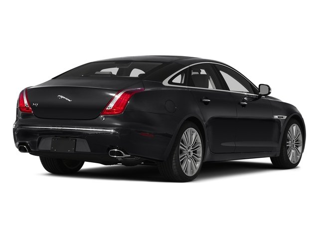 Ebony 2015 Jaguar XJ Pictures XJ Sedan 4D V6 photos rear view