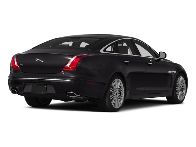 Ultimate Black Metallic 2015 Jaguar XJ Pictures XJ Sedan 4D V6 photos rear view