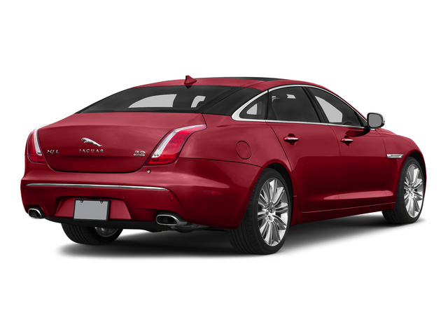 Italian Racing Red 2015 Jaguar XJ Pictures XJ Sedan 4D L Supercharged Speed V8 photos rear view