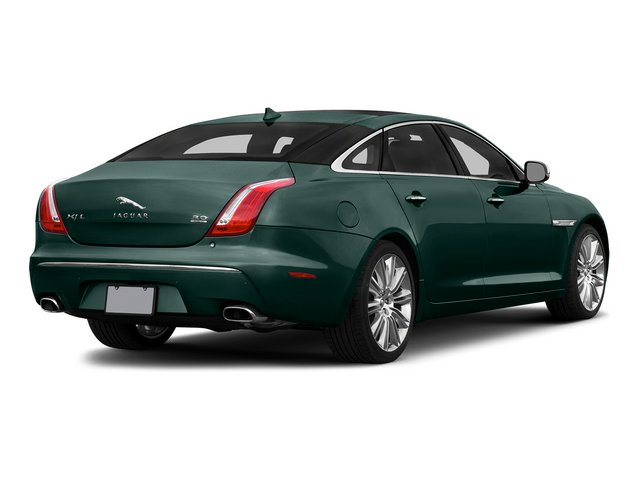British Racing Green 2015 Jaguar XJ Pictures XJ Sedan 4D L Supercharged Speed V8 photos rear view