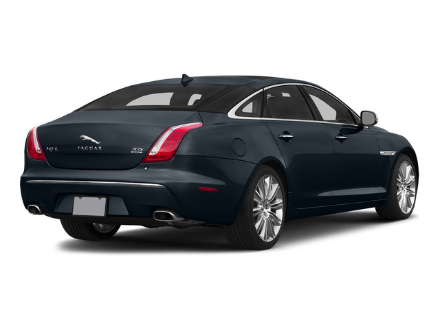 Dark Sapphire Metallic 2015 Jaguar XJ Pictures XJ Sedan 4D L Supercharged Speed V8 photos rear view