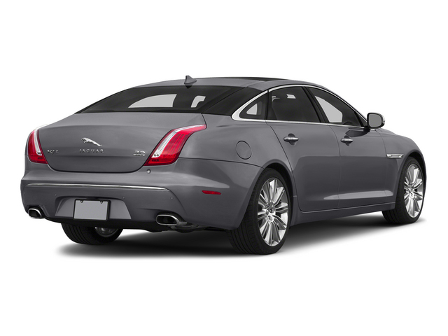 Lunar Gray Metallic 2015 Jaguar XJ Pictures XJ Sedan 4D L Supercharged Speed V8 photos rear view