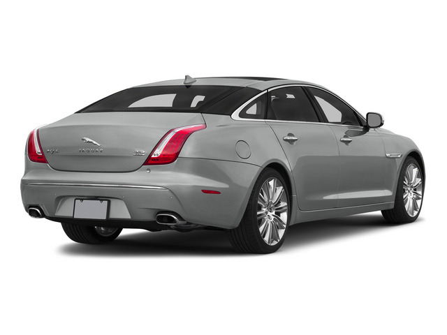 Rhodium Silver Metallic 2015 Jaguar XJ Pictures XJ Sedan 4D L Supercharged Speed V8 photos rear view
