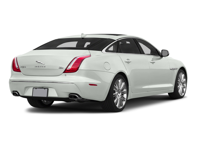 Polaris White 2015 Jaguar XJ Pictures XJ Sedan 4D L Supercharged Speed V8 photos rear view