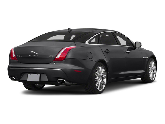 Ebony 2015 Jaguar XJ Pictures XJ Sedan 4D L Supercharged Speed V8 photos rear view