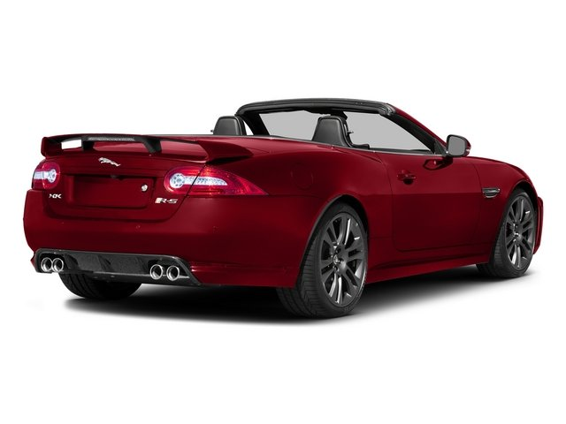 Italian Racing Red 2015 Jaguar XK Pictures XK Convertible 2D XKR-S V8 Supercharged photos rear view