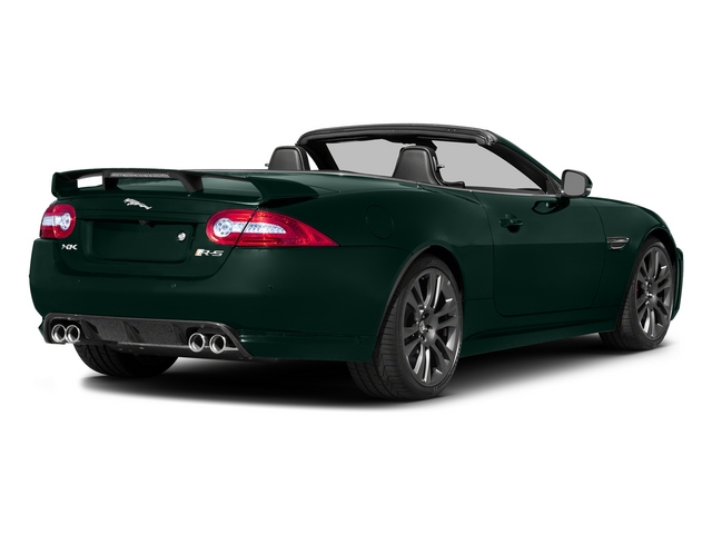 British Racing Green 2015 Jaguar XK Pictures XK Convertible 2D XKR-S V8 Supercharged photos rear view