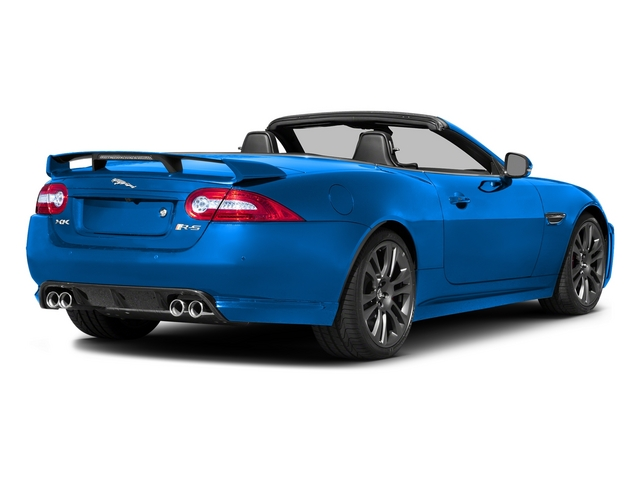 French Racing Blue 2015 Jaguar XK Pictures XK Convertible 2D XKR-S V8 Supercharged photos rear view