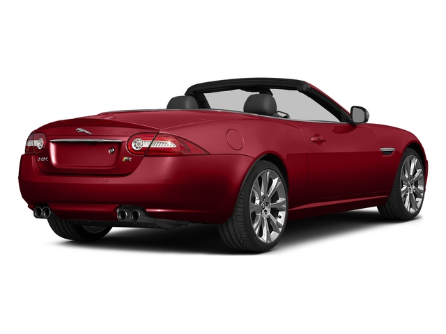 Italian Racing Red 2015 Jaguar XK Pictures XK Convertible 2D XKR V8 Supercharged photos rear view