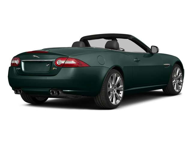 British Racing Green 2015 Jaguar XK Pictures XK Convertible 2D XKR V8 Supercharged photos rear view