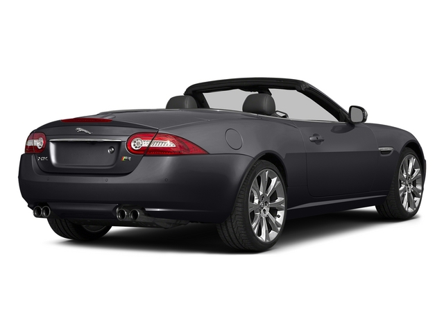 Stratus Gray Metallic 2015 Jaguar XK Pictures XK Convertible 2D XKR V8 Supercharged photos rear view