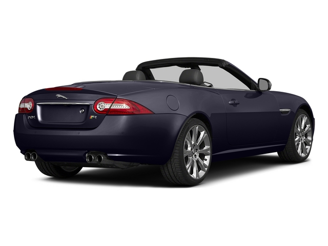 Black Amethyst Metallic 2015 Jaguar XK Pictures XK Convertible 2D XKR V8 Supercharged photos rear view