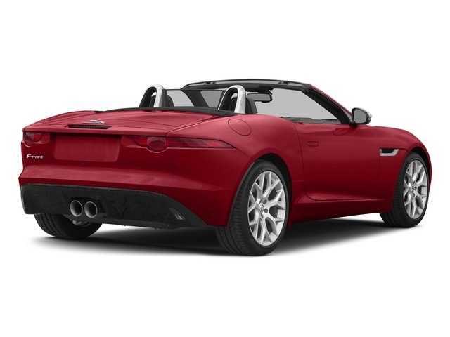 Italian Racing Red 2015 Jaguar F-TYPE Pictures F-TYPE Convertible 2D V6 photos rear view