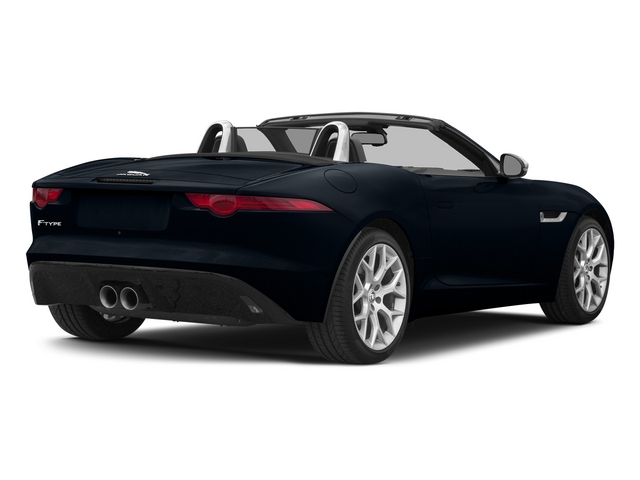 Dark Sapphire Metallic 2015 Jaguar F-TYPE Pictures F-TYPE Convertible 2D V6 photos rear view