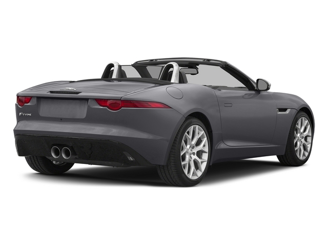 Lunar Gray Metallic 2015 Jaguar F-TYPE Pictures F-TYPE Convertible 2D V6 photos rear view