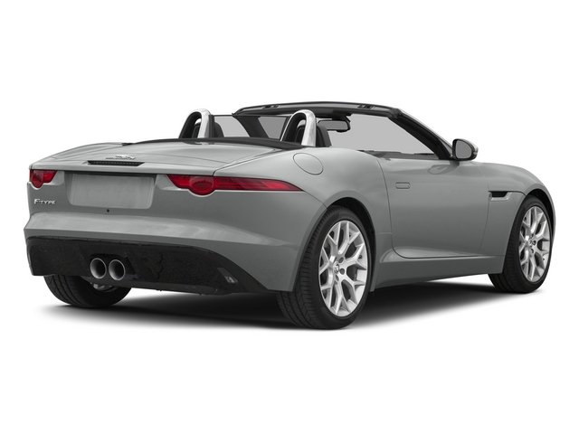 Rhodium Silver Metallic 2015 Jaguar F-TYPE Pictures F-TYPE Convertible 2D V6 photos rear view