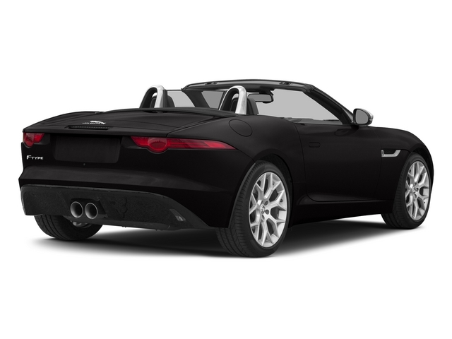 Ultimate Black Metallic 2015 Jaguar F-TYPE Pictures F-TYPE Convertible 2D V6 photos rear view