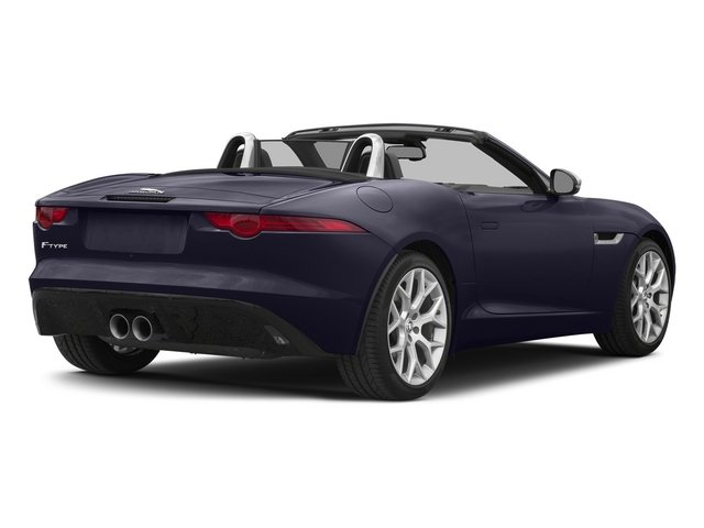 Black Amethyst Metallic 2015 Jaguar F-TYPE Pictures F-TYPE Convertible 2D V6 photos rear view