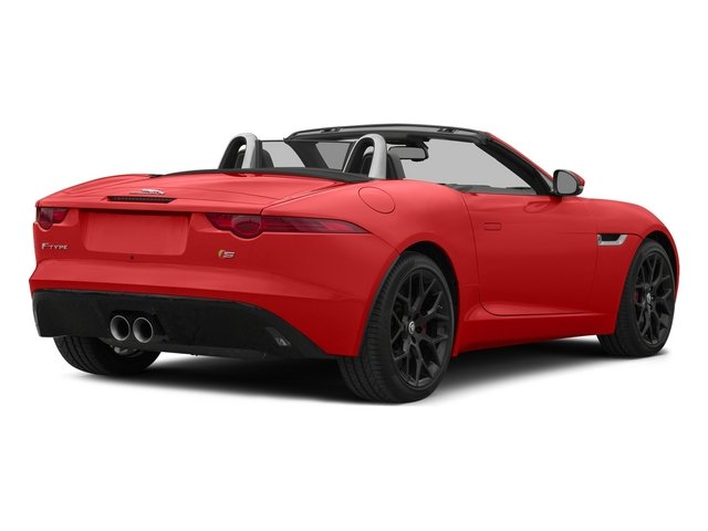 Salsa Red 2015 Jaguar F-TYPE Pictures F-TYPE Convertible 2D S V6 photos rear view