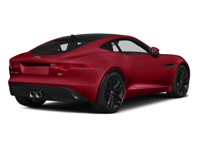 Italian Racing Red 2015 Jaguar F-TYPE Pictures F-TYPE Coupe 2D S V6 photos rear view