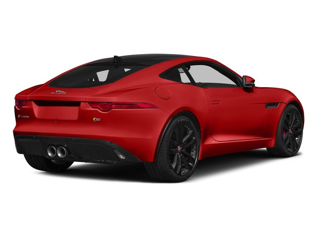 Salsa Red 2015 Jaguar F-TYPE Pictures F-TYPE Coupe 2D S V6 photos rear view