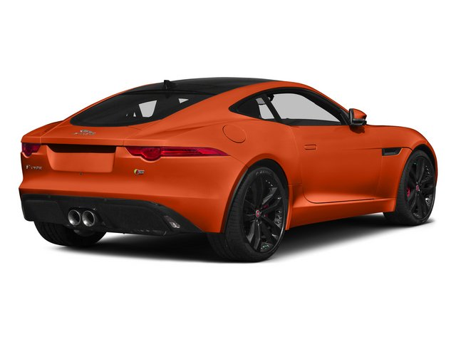 Firesand Metallic 2015 Jaguar F-TYPE Pictures F-TYPE Coupe 2D R V8 photos rear view