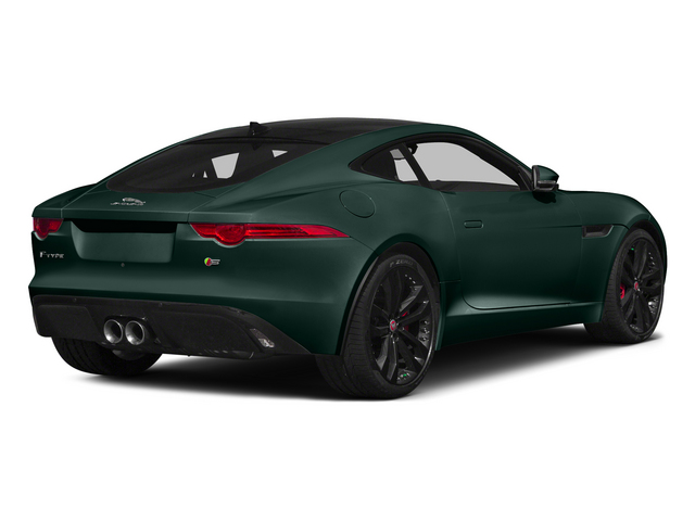 British Racing Green 2015 Jaguar F-TYPE Pictures F-TYPE Coupe 2D S V6 photos rear view