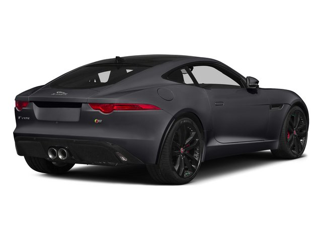 Stratus Gray Metallic 2015 Jaguar F-TYPE Pictures F-TYPE Coupe 2D S V6 photos rear view