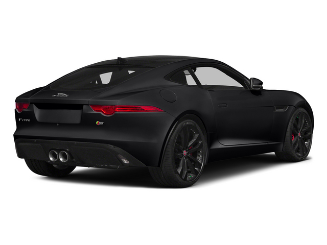 Ebony 2015 Jaguar F-TYPE Pictures F-TYPE Coupe 2D R V8 photos rear view