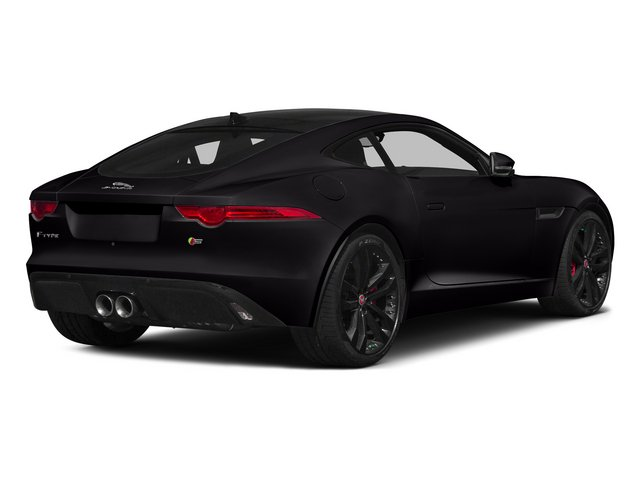 Ultimate Black Metallic 2015 Jaguar F-TYPE Pictures F-TYPE Coupe 2D S V6 photos rear view