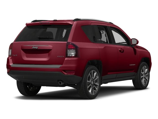 Deep Cherry Red Crystal Pearlcoat 2015 Jeep Compass Pictures Compass Utility 4D High Altitude 2WD photos rear view