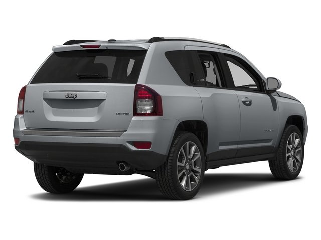 Billet Silver Metallic Clearcoat 2015 Jeep Compass Pictures Compass Utility 4D Limited 4WD photos rear view