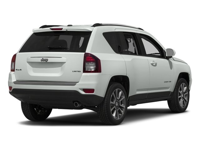 Bright White Clearcoat 2015 Jeep Compass Pictures Compass Utility 4D High Altitude 2WD photos rear view