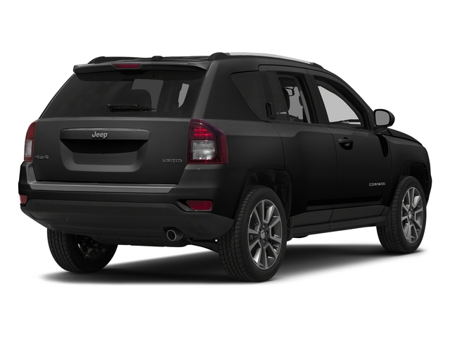 Black Clearcoat 2015 Jeep Compass Pictures Compass Utility 4D High Altitude 2WD photos rear view