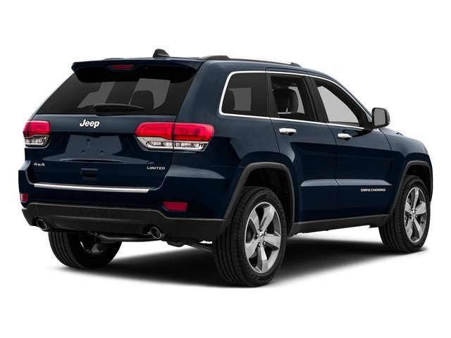 True Blue Pearlcoat 2015 Jeep Grand Cherokee Pictures Grand Cherokee Utility 4D Limited 4WD photos rear view