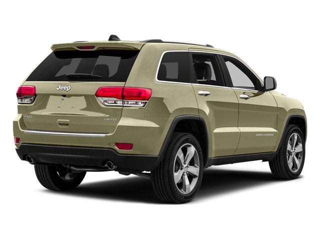 Cashmere Pearlcoat 2015 Jeep Grand Cherokee Pictures Grand Cherokee Utility 4D Limited 2WD photos rear view