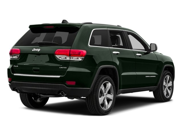 Black Forest Green Pearlcoat 2015 Jeep Grand Cherokee Pictures Grand Cherokee Utility 4D Laredo 2WD photos rear view