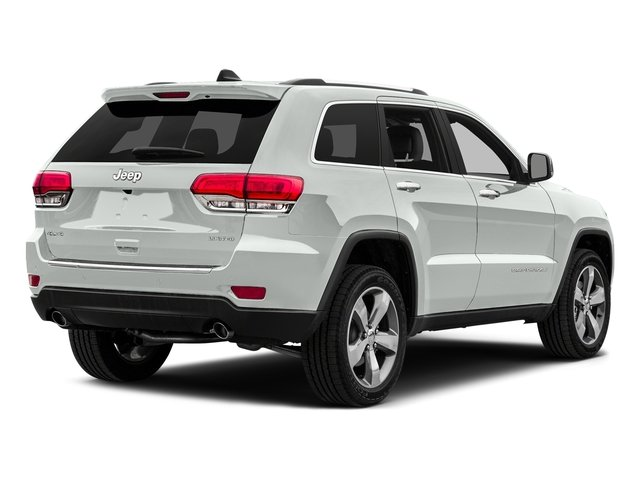 Bright White Clearcoat 2015 Jeep Grand Cherokee Pictures Grand Cherokee Utility 4D Laredo 2WD photos rear view