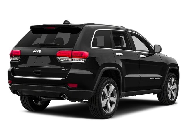Brilliant Black Crystal Pearlcoat 2015 Jeep Grand Cherokee Pictures Grand Cherokee Utility 4D Limited 4WD photos rear view