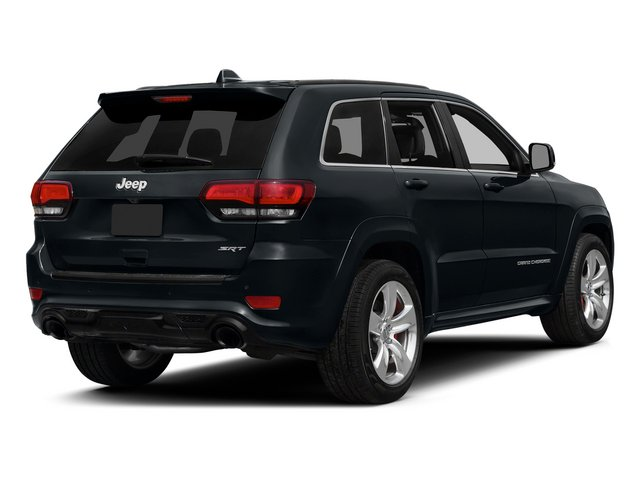 Maximum Steel Metallic Clearcoat 2015 Jeep Grand Cherokee Pictures Grand Cherokee Utility 4D SRT-8 4WD photos rear view