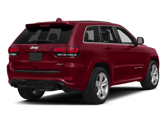 Deep Cherry Red Crystal Pearlcoat 2015 Jeep Grand Cherokee Pictures Grand Cherokee Utility 4D SRT-8 4WD photos rear view