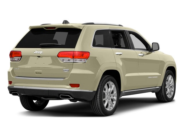 Cashmere Pearlcoat 2015 Jeep Grand Cherokee Pictures Grand Cherokee Utility 4D Summit 4WD photos rear view