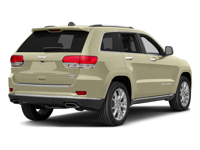 Cashmere Pearlcoat 2015 Jeep Grand Cherokee Pictures Grand Cherokee Utility 4D Summit Diesel 4WD photos rear view