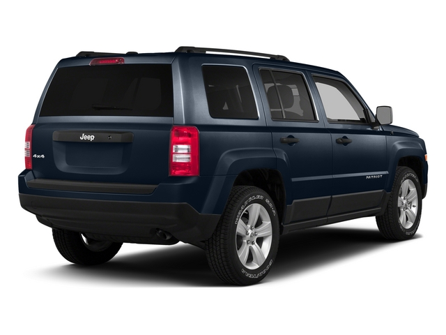 True Blue Pearlcoat 2015 Jeep Patriot Pictures Patriot Utility 4D Sport 2WD photos rear view