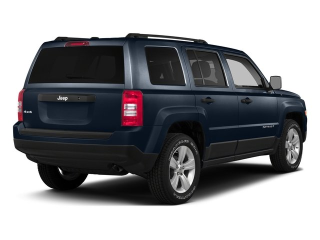 True Blue Pearlcoat 2015 Jeep Patriot Pictures Patriot Utility 4D Sport 4WD photos rear view