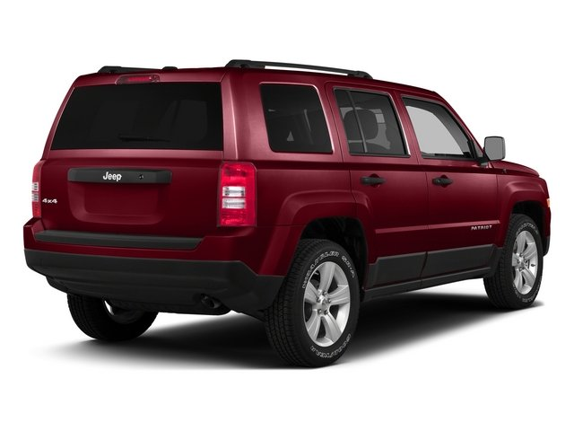Deep Cherry Red Crystal Pearlcoat 2015 Jeep Patriot Pictures Patriot Utility 4D Sport 4WD photos rear view