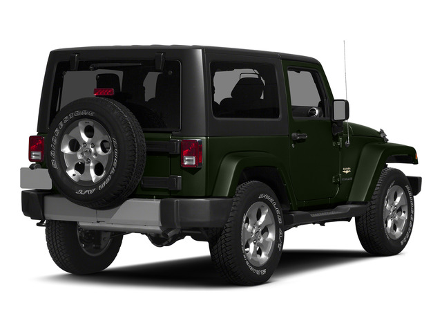 Tank Clearcoat 2015 Jeep Wrangler Pictures Wrangler Utility 2D Sahara 4WD V6 photos rear view