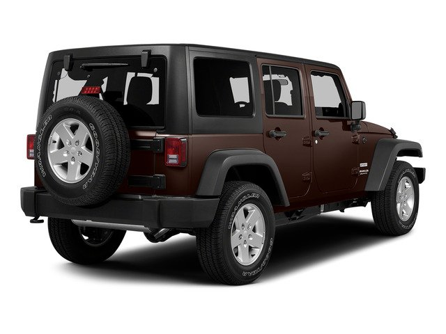 Copper Brown Pearlcoat 2015 Jeep Wrangler Unlimited Pictures Wrangler Unlimited Utility 4D Unlimited Rubicon 4WD V6 photos rear view