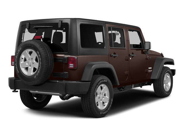 Copper Brown Pearlcoat 2015 Jeep Wrangler Unlimited Pictures Wrangler Unlimited Utility 4D Unlimited Sport 4WD V6 photos rear view