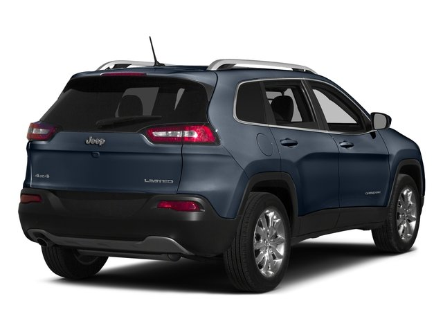 True Blue Pearlcoat 2015 Jeep Cherokee Pictures Cherokee Utility 4D Latitude 2WD photos rear view